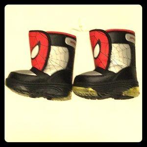 Marvel Spider-Man Toddler Boy Neo Boots